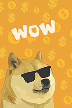 WOW  Cryptocurrencies DogeCoin Notebook in Lines