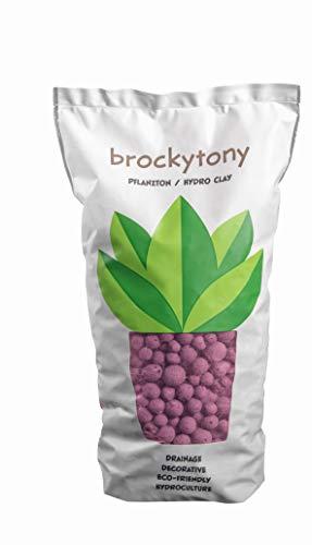brockytony 8-16 mm. (Pflanzton, Pflanzgranulat, Blähton) 2 Liter. PINK. BT813Y2