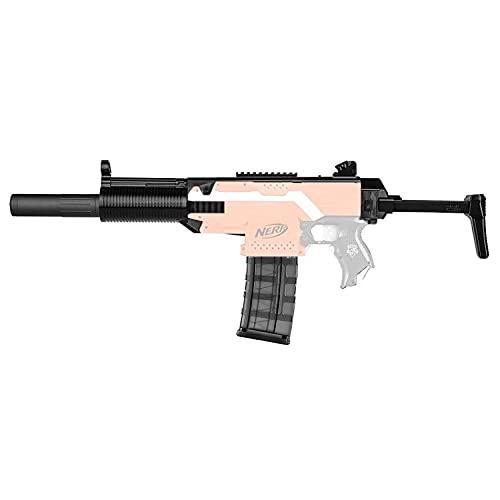 WORKER F10555 MP5-SD Style (Black Adaptor) for Nerf N-Strike Stryfe Blaster