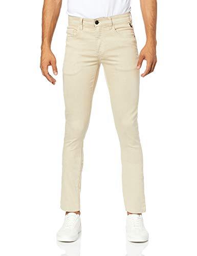 Calça Cont. Skinny Color, Reserva, Masculino, Areia, 48