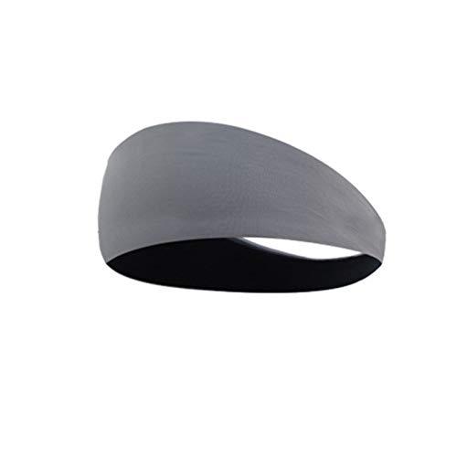Bandeau de sport absorbant rapidement la sueur Bande-transversale pour hommes femmes élastique sport bandes de cheveux bandeau bandeau bandeau bandeau de chapeaux heavwrap sport accessoires de cheveux