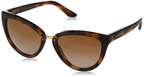 Ralph Lauren 0RL8167 Gafas de sol, Striped Havana, 55 para Mujer