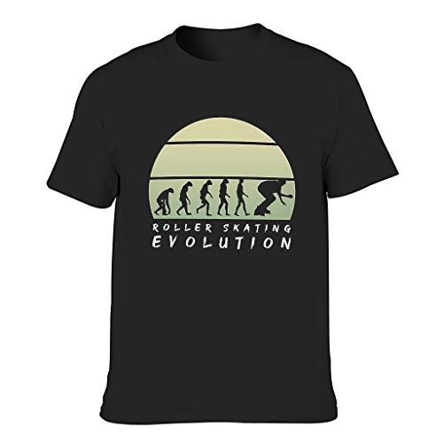 Camiseta Hombre Algodón Patinaje Evolución Cool Individuality - Camiseta