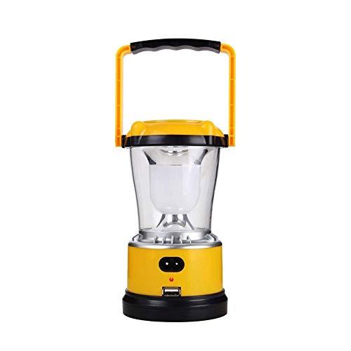ZBQLKM Camping Lantern Solar Recargable, Linterna de Camping, Linterna LED Camping, Senderismo, recreaciones al Aire Libre, Cable de Carga USB Incluido