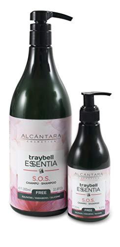 Alcantara Cosmetica Traybell Essentia S.O.S Champú 1 Litro 1000 ml