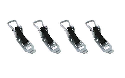 LOADCARE 4X Verschlusslager 60mm Schaufelhalter Spatenhalter Axthalter Besenhalter