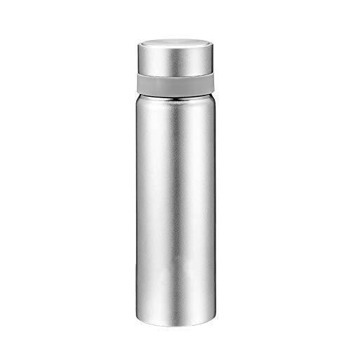 Mokfles Vacuüm geïsoleerde RVS bidon Travel Fles Leak-proof Thermos, geschikt for fietsers, lopers, wandelaars, strandliefhebbers, Picknicken, Kamperen (450ML) Volwassenen