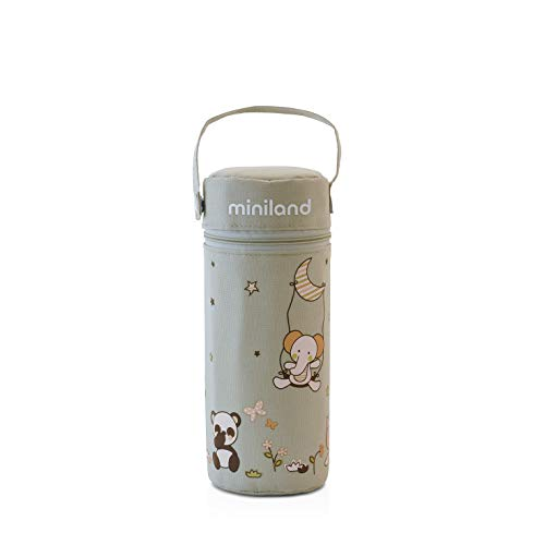 Miniland Baby 89190 THERMIBAG SOFT, 330 ml, beige