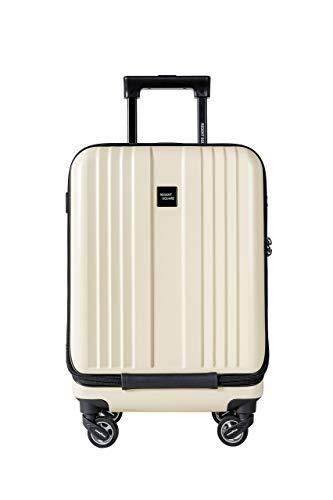 Regent Square(リージェントスクエア) 静音グッドイヤーホイール 機内持込 フロントオープン 小型 スーツケース 軽量 3.1キロ 39L