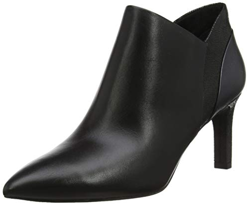 Rockport Damen Total Motion Valerie Luxe V Cut Bootie Kurzschaft Stiefel, Schwarz (Black 002), 38 EU (5 UK)