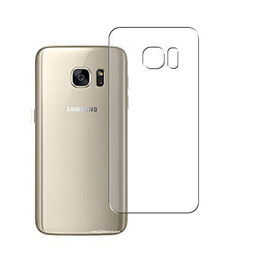 Vaxson 2 Unidades Protector de pantalla Posterior, compatible con Samsung Galaxy S7 G930A G9300 [No Vidrio Templado] TPU Película Protectora Espalda Skin Cover