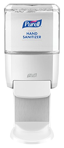 PURELL ES4 Push-Style Hand Sanitizer Dispenser, White, for...