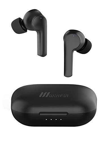 Willful Cuffie Bluetooth 5.0 Auricolari Wireless Sport Cuffiette Senza Fili per iPhone Samsung Huawei Cellulare PC Auricolare Running con Microfono 40 Ore di Autonomia Assistente Vocale Waterproof