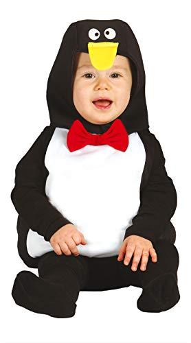 FIESTAS GUIRCA Disfraz pingüino bebé Talla 12-24 Meses
