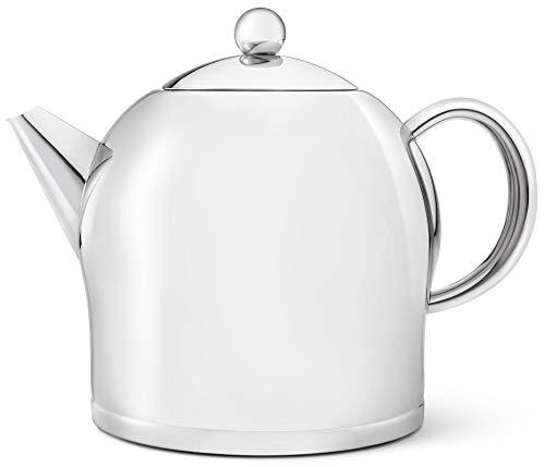 Bredemeijer große doppelwandige Edelstahl Teekanne 2.0 Liter
