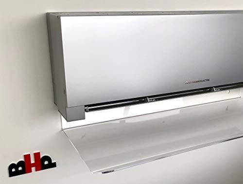 Deflettore aria condizionatori e split in plexiglas ALTUGLAS cm 80 x 8 28 12
