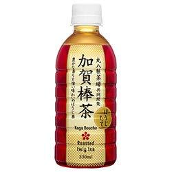 ハイピース 加賀棒茶 330mlペットボトル×24本入×(2ケース)