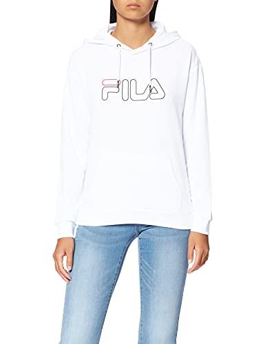 Fila 683502−M67 Sudadera con Capucha, Bright White, XS para Mujer