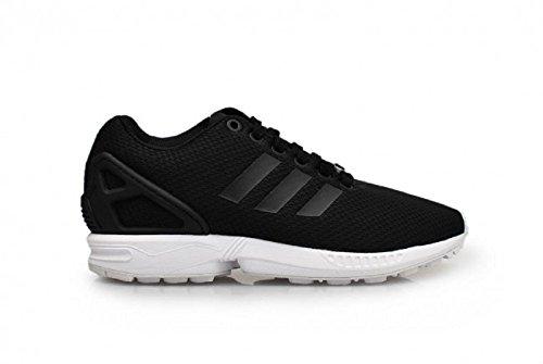 adidas  Adidas ZX Flux W,  Damen Sneaker Low-Tops , Schwarz - Schwarz/Weiß - Größe: 36