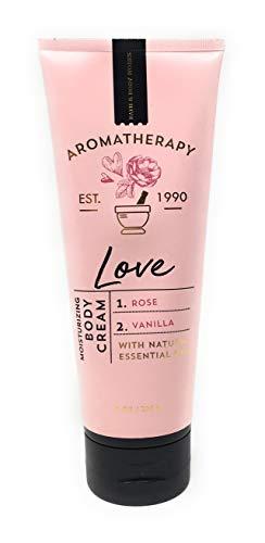 Bath and Body Works Aromatherapy LOVE - ROSE + VANILLA Body Cream 8 Ounce