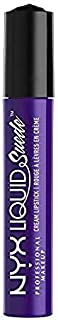 NYX Professional Makeup Liquid Suede Cream Lipstick, Amethyst, 0. 13 Fluid Ounce