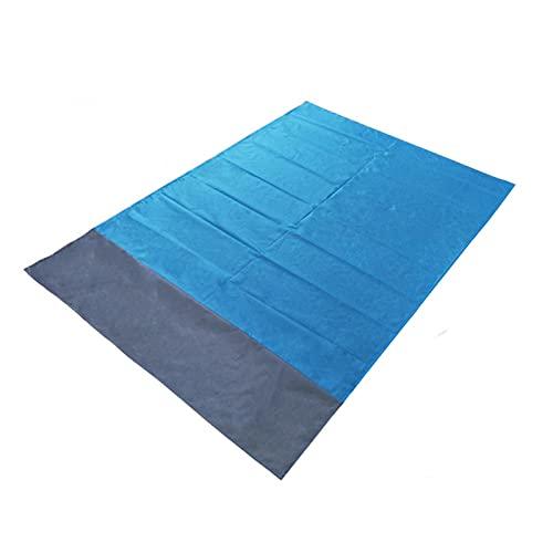WGDPMGM Mantas para pícnic Estera Liviana portátil Mat de Picnic al Aire Libre Matera de Playa 1.4x2m Impermeable Pocket Beach Manta Plegable Camping Mat (Color : 140X200cm)