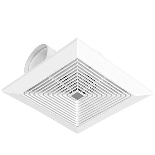 Ventilador de ventilación doméstico Ventilador Ventilador Extractor 10 Pulgadas, Baño/Cocina Placa De Yeso Ventilador De Techo LITING