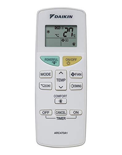 SDGstore DAIKIN Luftkühler-Fernbedienung ARC470A11 ARC469A5 KTDJ002 ARC470A16 ARC455A1 FTXH325LC-W Original