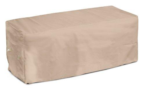 KOVERROOS Weathermax 44207 Housse de Banc de 2,4 m de Large x 63,5 cm de diamètre x 91,4 cm de Hauteur, Toast