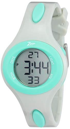 Zoop Digital Grey Dial Boys Watch NL26012PP01 / NL26012PP01
