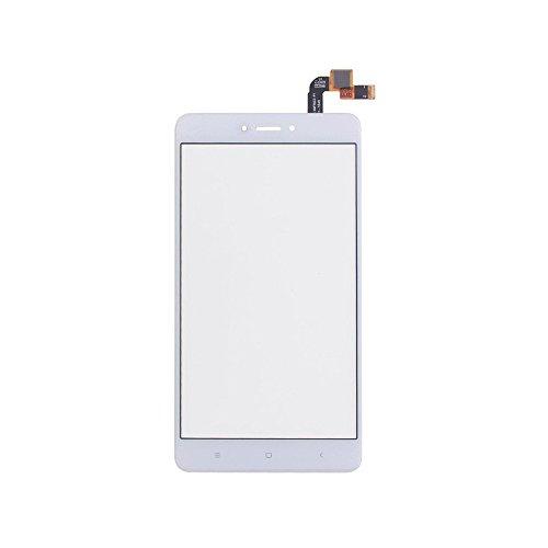 JayTong Pantalla de Repuesto Digitalizador Pantalla Táctil Frontal Vidrio con Gratis Herramientas para Xiaomi Redmi Note 4X / Note 4 Global Version Qualcomm Snapdragon 625 (Not LCD Display) Blanco
