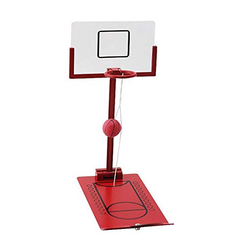 ZSDGY Desktop-Dekompressionsbasketball, klappbarer Basketballautomat, Handheld Mini Fun Basket B