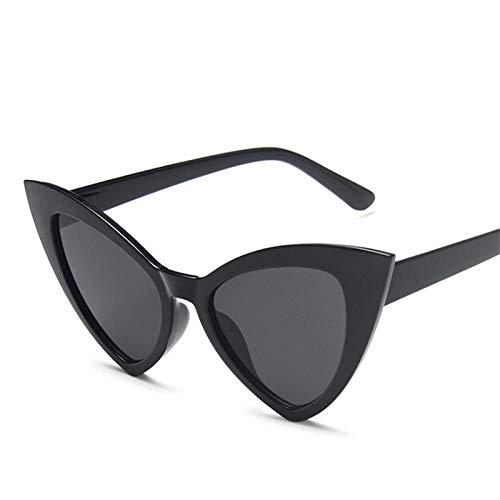 Occhiali da Sole da Uomo Donna Ciclismo Occhiali da Sole Donna Fashion Gradient Occhiali da Vista Vintage Big Frame Nero Grigio Occhiali da Sole-Quanblack