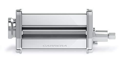 CARRERA Teig-Roller, 140mm, 8 Stufen, Edelstahl, für CARRERA Küchenmaschine No 657