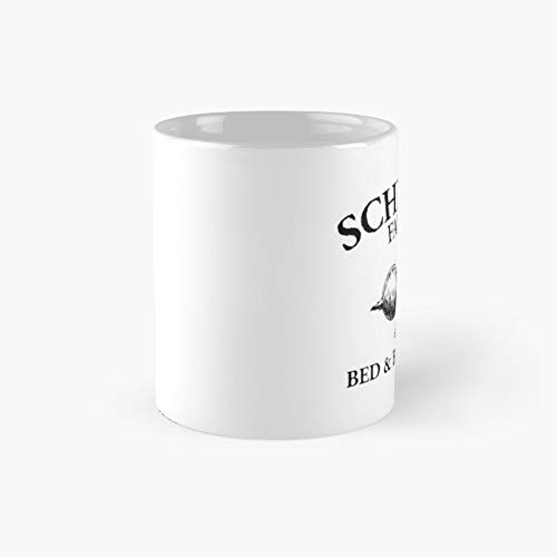 Schrute Farms - Bed And Breakfast Logo The Office Classic Mug | Best Gift Funny Coffee Mugs 11 Oz