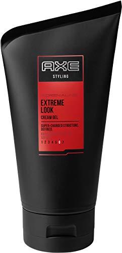 Axe Coiffure Cheveux Gel pour les hommes Extreme Look Adrenaline, (125 ml)