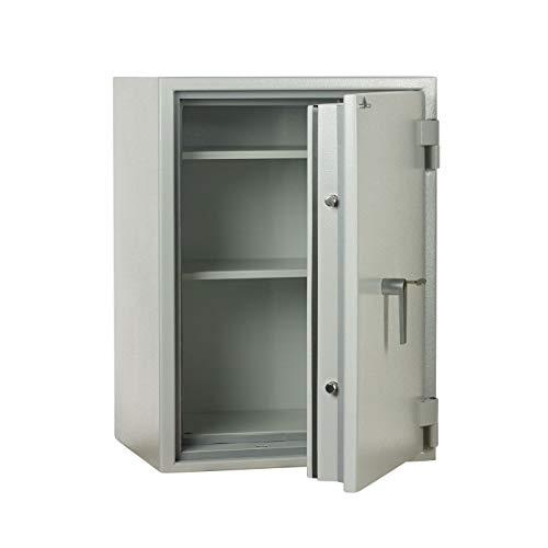 Caja fuerte ignífuga JK400, 60 min, S 60 P, 801 x 589 x 471 mm, cerradura electrónica, color gris claro