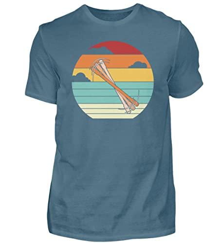 Penspinning Pen Spinning   01501 - Camiseta para hombre, Piedra Azul, L