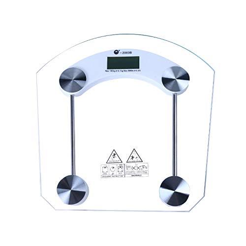 HUANGB Cuerpo Transparente Báscula Electrónica Báscula Peso Logotipo Personalizado Báscula Salud Vidrio Regalo Básculas Pesaje Pacientes Directo Fábrica