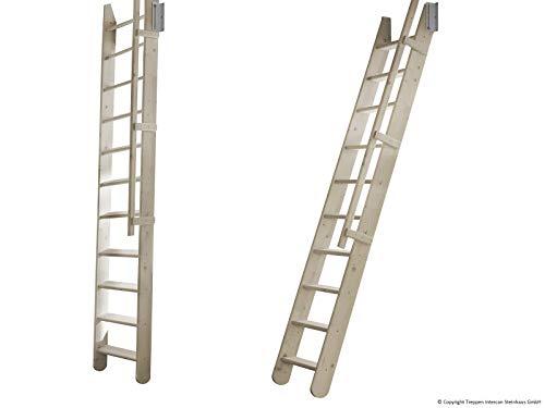 Intercon® Easy Step Raumspartreppe zum Schieben in Fichte oder Buche, 300 cm Höhe (Fichte)