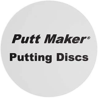 MADE in USA: Putt Maker Putting Discs, Putting Green Golf Accessories for all Golfers, Golf Putting Practice Aid