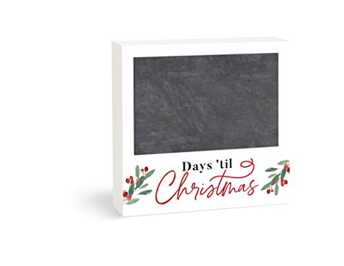 P. Graham Dunn Days Til Adventskalender, klassisch, weiß, 17,8 x 17,8 cm