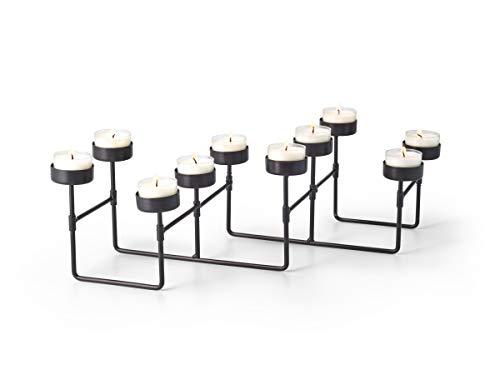PHILIPPI - design en détail LAB Lichtwunder v300004 10 Teelichte - 23 x 11 x 12 cm