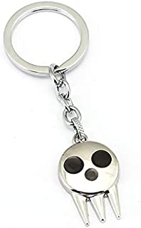 Mct12 - Keychain Anime Charm Key Chain Death The Kid Key Ring Holder Chaveiro Jewelry