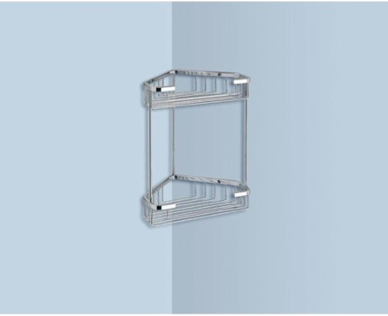 Gedy Gedy 2481 Corner Wire Shelf, 1.2  L x 7.87  W, Chrome