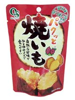 岡三食品 パクッと焼きいも オーサワジャパン 50g×6個