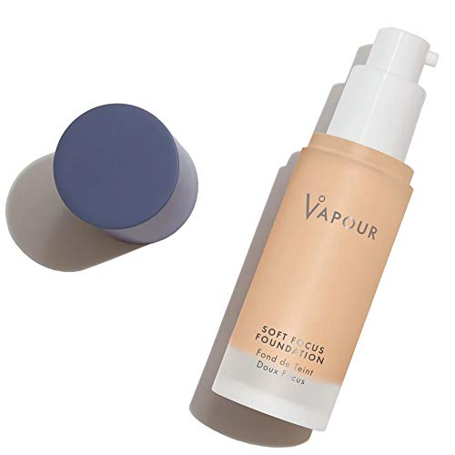 VAPOUR - Organic Soft Focus Foundation | Non-Toxic, Cruelty-Free, Clean Makeup (115S)