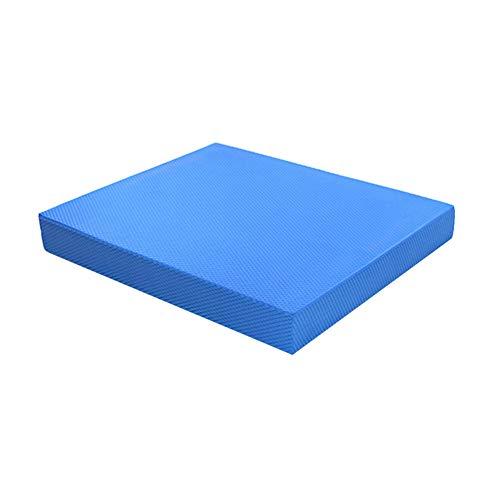 Genlesh Planche d'équilibre de yoga, tapis de yoga, tapis de yoga, tapis d'exercice antidérapant, imperméable et souple pour entraînement de fitness
