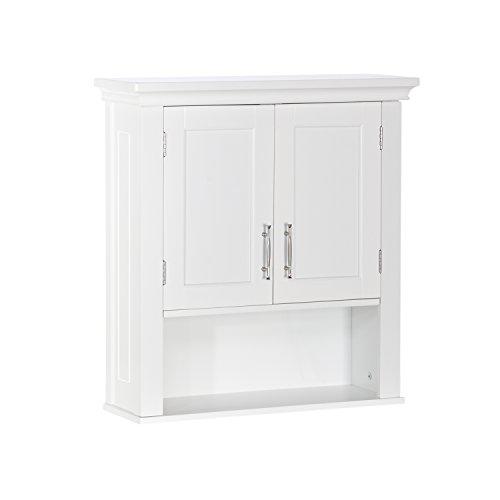 RiverRidge Somerset Two-Door, White Wall Cabinet