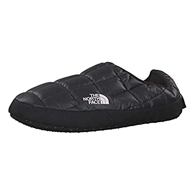 The North Face Womens Thermoball Tent Mules Comfort Skiing Slippers - TNF Black/TNF Black - 6-7.5